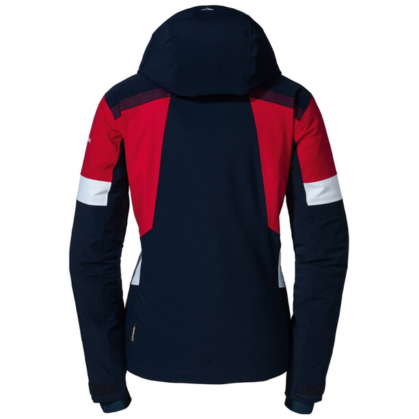 Schöffel Paznaun Skijacke Damen blau/rot
