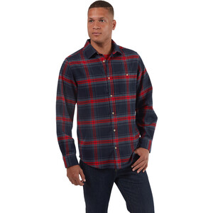 Craghoppers Wilmot Langarmhemd Herren blue navy check blue navy check
