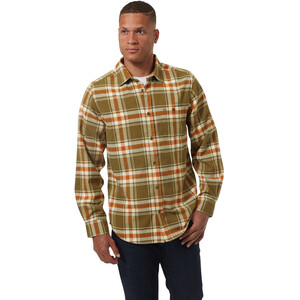 Craghoppers Wilmot Langarmhemd Herren woodland green check woodland green check