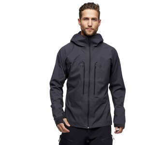 Black Diamond Dawn Patrol Hybrid Shell Jacke Herren carbon carbon