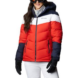 Columbia Abbott Peak Isolierende Jacke Damen bold orange/dark nocturnal/white bold orange/dark nocturnal/white