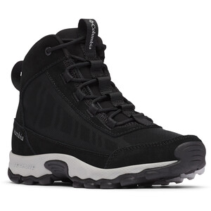 Columbia Flow Borough Mid-Cut Schuhe Jugend black/steam black/steam
