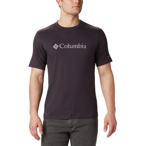 Columbia CSC Basic Logo Kurzarmshirt Herren dark purple dark purple