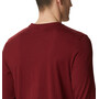 Columbia Outer Bounds Langarm Graphic T-Shirt Herren red jasper lined skyview
