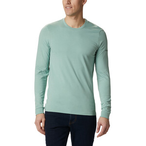 Columbia Cades Cove Langarm Graphic T-Shirt Herren aqua tone outdoor park aqua tone outdoor park
