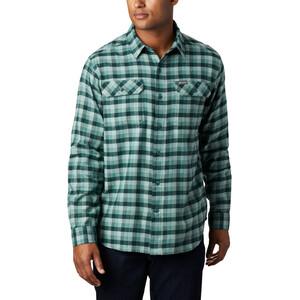 Columbia Flare Gun Stretch Flannel Shirt Men, thyme green grid plaid thyme green grid plaid