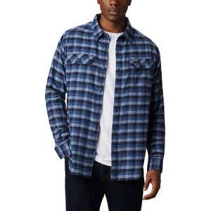 Columbia Flare Gun Stretch Flanellhemd Herren night tide grid plaid night tide grid plaid