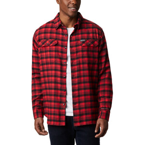Columbia Flare Gun Stretch Flanellhemd Herren red jasper grid plaid red jasper grid plaid