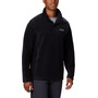 Columbia Steens Mountain Sweat À Boutons Pression Homme, black