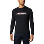Columbia Columbia Lodge Langarm Graphic T-Shirt Herren black/csc retro squiggle typo