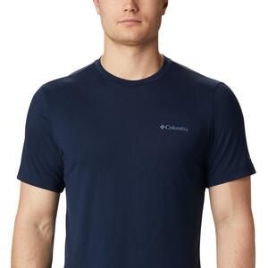 Columbia Maxtrail Kurzarm Logo T-Shirt Herren collegiate navy collegiate navy