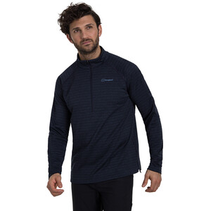 Berghaus Thermal Tech Langarm Zip T-Shirt Herren night sky/mood indigo night sky/mood indigo