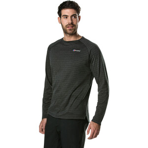 Berghaus Thermal Tech Langarm Base Rundhalsshirt Herren black/carbon black/carbon