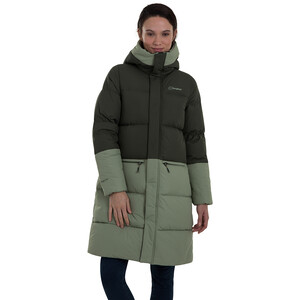 Berghaus Combust Reflektierende Jacke Lang Damen oil green/deep depths oil green/deep depths