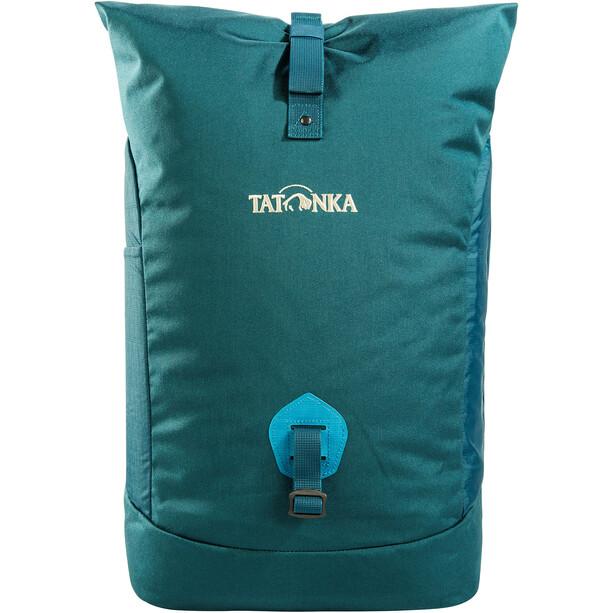 Tatonka Grip Sac à dos avec rabat roulé Petit, Bleu pétrole