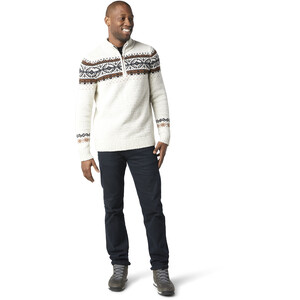 Smartwool CHUP Hansker Half-Zip Sweater Herren ash/light grey heather marl ash/light grey heather marl