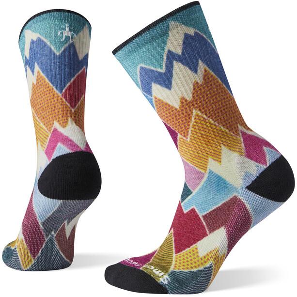 Smartwool Hike Light Mountain Crew-Cut Socken Damen multicolour