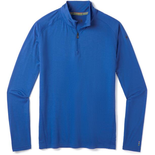 Smartwool Merino 150 1/4 Zip Baselayer Oberteil Herren alpine blue