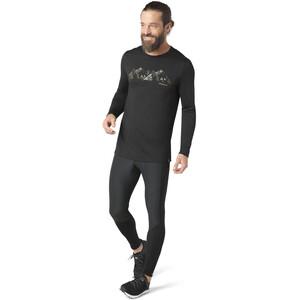 Smartwool Merino Sport 150 Upper Slopes Langarm T-Shirt Herren black black