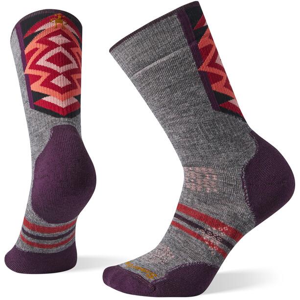 Smartwool PhD Nordic Medium Socken Damen grey