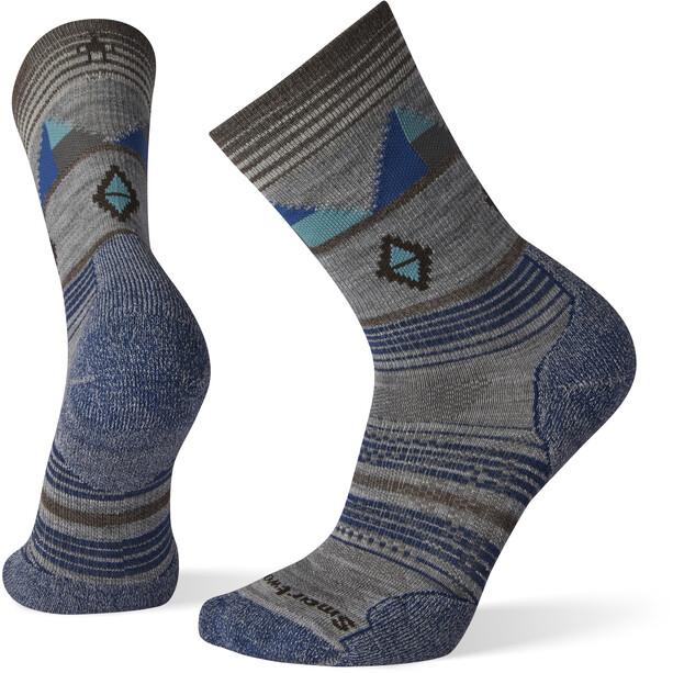 Smartwool PhD Outdoor Light Pattern Crew-Cut Socken light grey