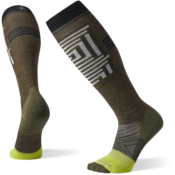 Smartwool PhD Pro Freeski Socken military olive