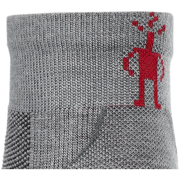 Smartwool Run Zero Cushion Lågt skurna strumpor grå