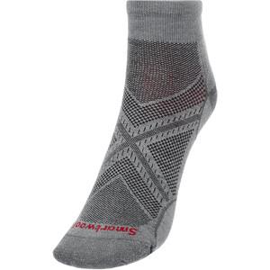 Smartwool Run Zero Cushion Low-Cut Socken grau grau