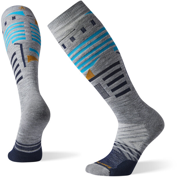 Smartwool PhD Ski Medium Pattern Socken light grey