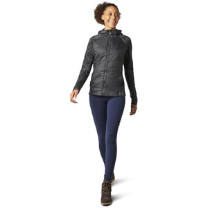 Smartwool Smartloft 60 Full-Zip Hoodie Damen black/traced dahlia black/traced dahlia