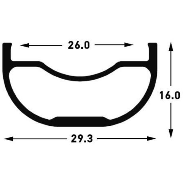 "NoTubes ZTR Arch MK3 Hinterrad 29"" 12x148mm SRAM XD"