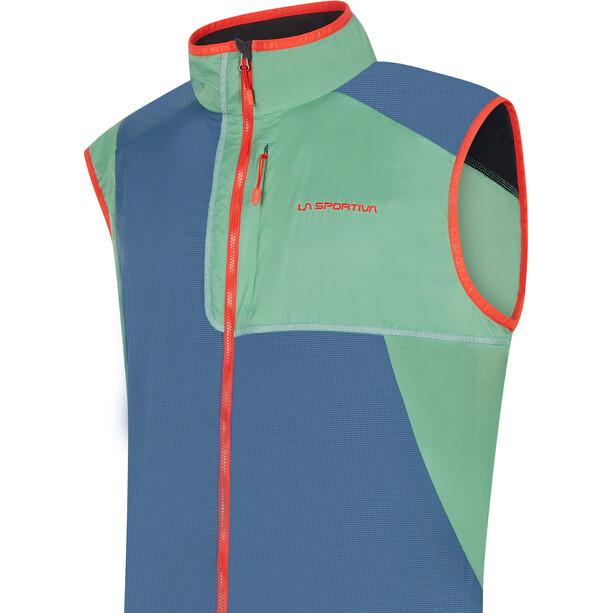 La Sportiva Latitude Veste Homme, bleu/vert