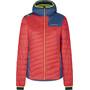 La Sportiva Misty Primaloft Jacke Damen rot/blau