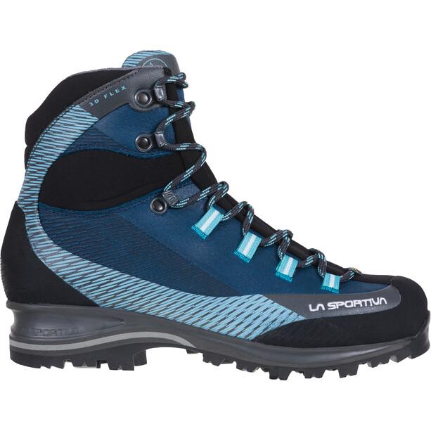 La Sportiva Trango TRK Leather GTX Shoes Women, opal/pacific blue