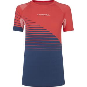 La Sportiva Escape T-Shirt Damen rot/blau rot/blau
