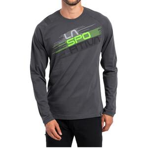 La Sportiva Stripe Evo Long Sleeve Shirt Men, carbon carbon