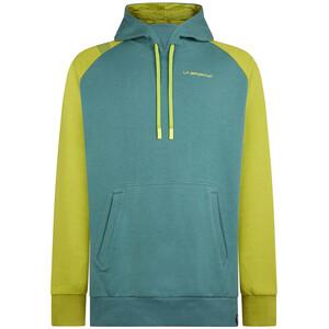 La Sportiva Rockfire Hoodie Herren grau/grün grau/grün