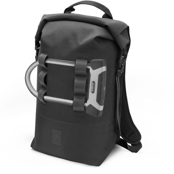 Chrome Urban EX 2.0 Rolltop Rucksack 20l schwarz