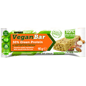 NAMEDSPORT Vegan Protein Riegel Box 24 x 40g Nuss