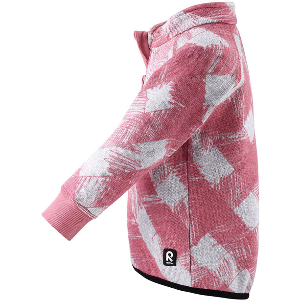 Reima Ornament Fleece Sweater Kleinkind bubblegum pink