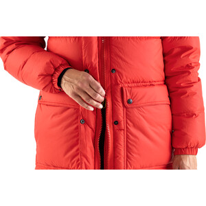 Fjällräven Expedition Pack Long Down Parka Women, true red true red