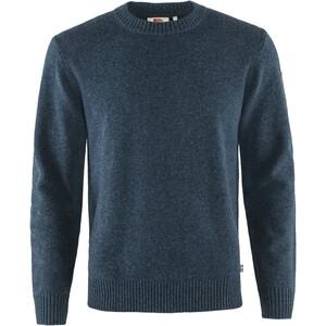 Fjällräven Övik Round-neck Sweater Men, sininen sininen