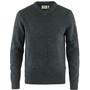 Fjällräven Övik V-Ausschnitt Sweater Herren grau