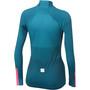 Sportful Bodyfit Pro Thermo Trikot Damen blue corsair/bubble gum