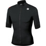 Sportful Fiandre Light No Rain Jacket Short Sleeve Men, noir