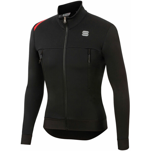 Sportful Fiandre Warm Jacke Herren black