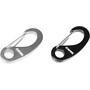 CAMPZ Accessoire Karabiner 2er-Set black/grey