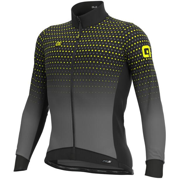 Alé Cycling PR-S Bullet Winter DWR Langarm Trikot Herren black/grey