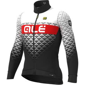Alé Cycling PR-S Hexa DWR Langarm Trikot Herren black/white black/white