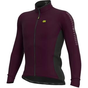 Alé Cycling Solid Fondo Maillot À Manches Longues Homme, violet violet